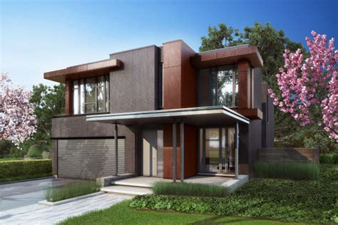 modern home design toronto crafthouse modern homes in toronto at bayview village