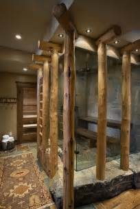 Cool Cabin Ideas 39 Cool Rustic Bathroom Designs Digsdigs