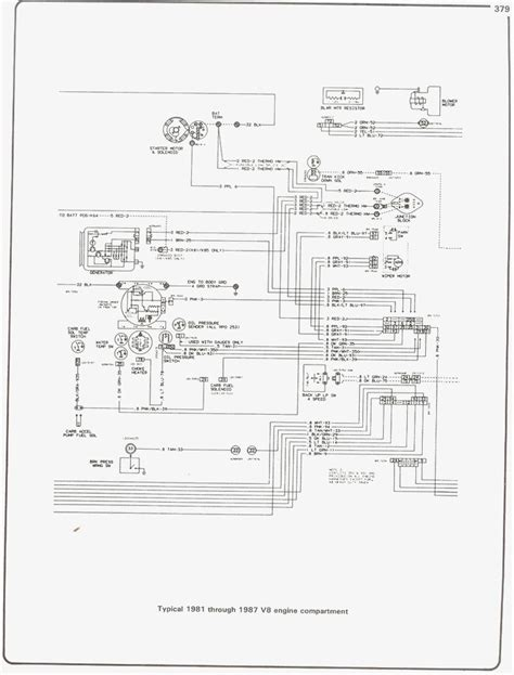 1987 chevy headlight wiring diagram wiring diagram manual