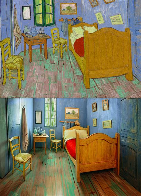 van goghs bedroom your eyes aren t playing tricks this is a real van gogh s
