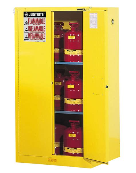 Justrite Flammable Liquid Storage Cabinet Cabinets Safety Cabinet Flammable Storage