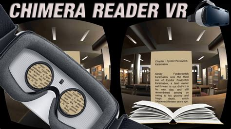 Vr Book chimera reader on samsung gear vr vr ebook reader