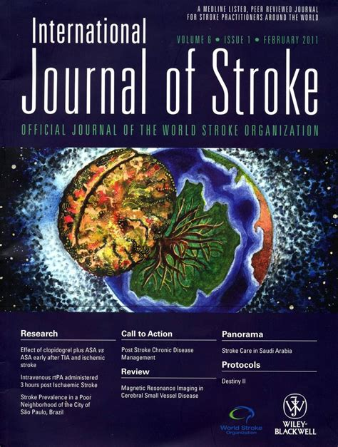 design international journal international journal of stroke 2011 cover design by