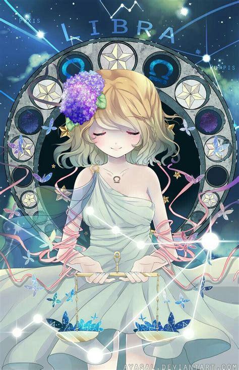 Anime Zodiac Signs by Libra Anime Text Zodiac Signs Zodiac Signs
