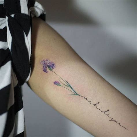 iris flower tattoo designs 22 grandiose iris designs and meanings