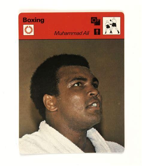 short biography muhammad ali lot detail 1963 78 muhammad ali memorabilia collection