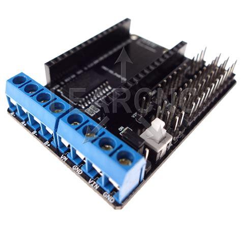 Arduino Motor Driver Shield L293d H Bridge Motor Dc Stepper Driver motor shield nodemcu l293d esp8266 h bridge 802 11 wifi
