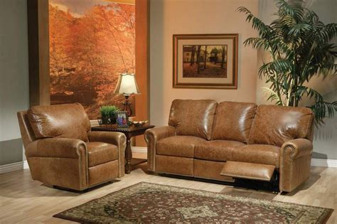 distressed leather reclining sofa living room distressed leather reclining sectional