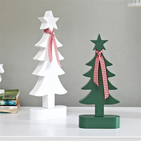 online buy wholesale wooden christmas tree ornaments from