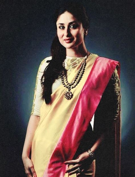 Kareena In High Neck Blouse by Kareena Kapoor Boat Neck Blouse Style That S How