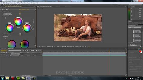 color correction after effects color correction tutorial 187