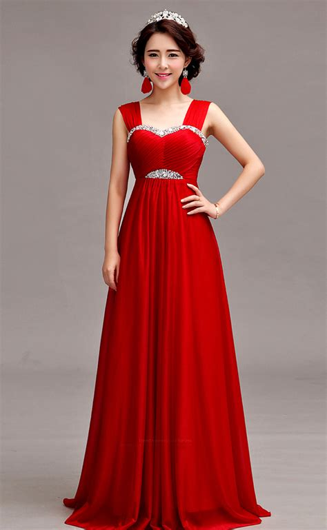 Evening Dress Wedding by Sleeveless Silk Chiffon Floor Length A Line Evening Gown