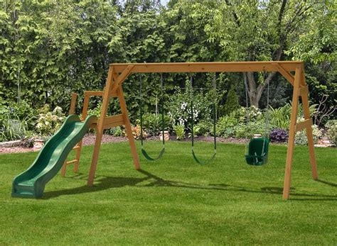 a frame swing set building a toddler playground sets free standing a frame