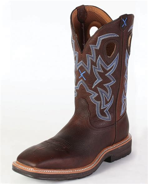 mens cowboy work boots twisted x boots 174 s lite cowboy work boots fort brands