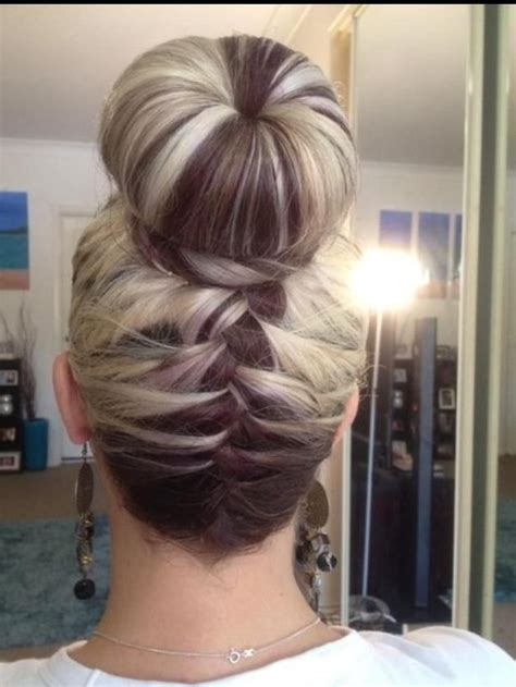 french braid bun on empire 13236 best images about natural hair style braids on