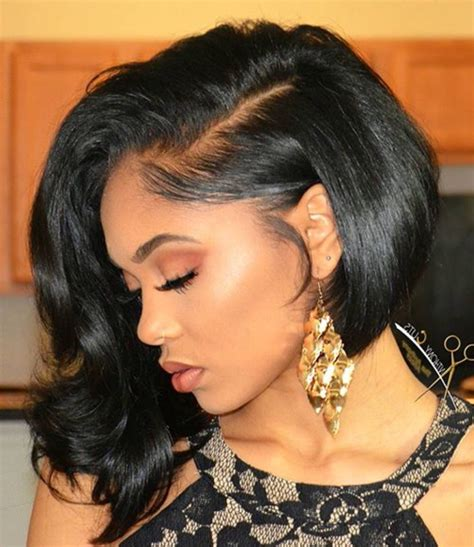Curly Hairstyles For Black With Weave by Bob Weaves Hairstyles Fade Haircut