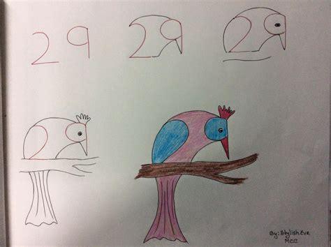imagenes chidas que se puedan dibujar ense 241 a a los m 225 s peques a dibujar a partir de n 250 meros y