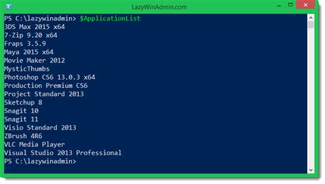 variables dynamic pattern powershell sccm create a dynamic variable list during