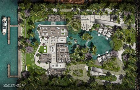 Home Floor Plans With Photos by 11 Star Island Will Be The Coolest House In Miami Curbed