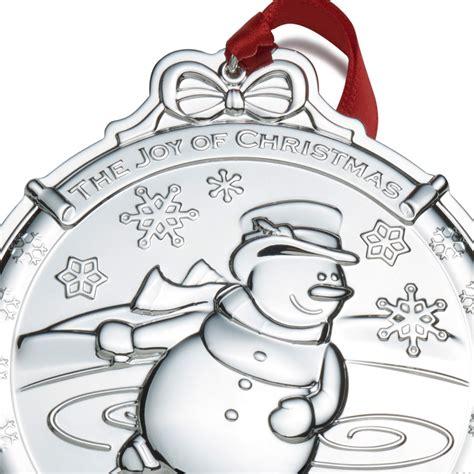 Snowman Silver wallace silver snowman 2016 ornament