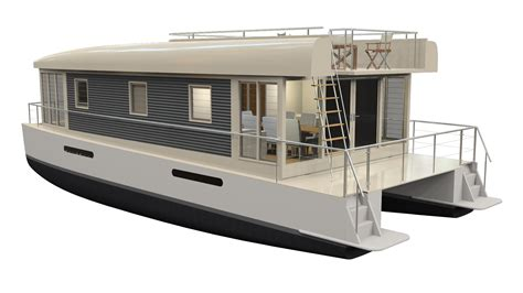 Three Awesome Variations Of The Mothership Houseboat 12