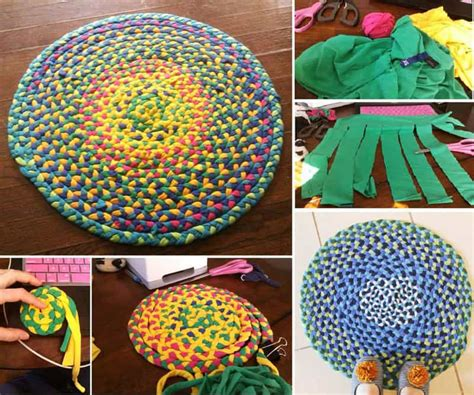 make braided rug how to make fabulous rainbow braided rugs using clothing