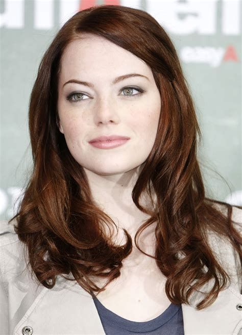 emma stone brown hair the bloomin couch how to determine your skin undertone