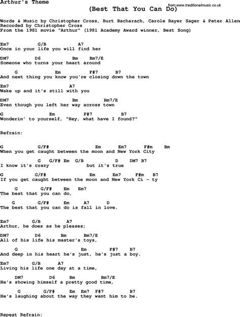 theme song arthur song arthur biography