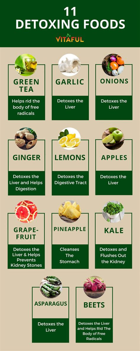 Foods To Eat When Detoxing by Foods For Detox Food
