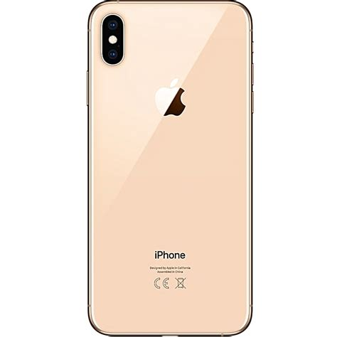 apple iphone xs max dual nano sim 64gb hdd gold jumia
