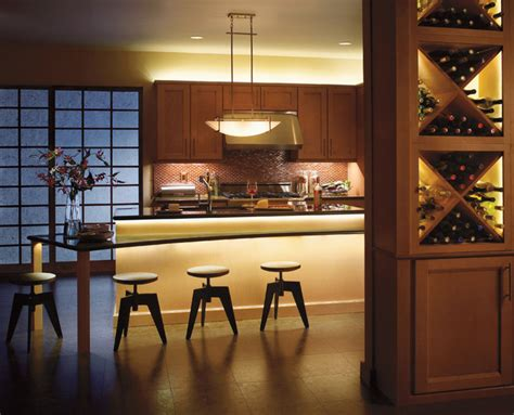 Kitchen Counter Lighting Fixtures Cabinet Lighting Modern Undercabinet Lighting Cleveland By Kichler