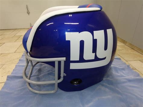 ny giants recliner new york giants helmet chairs pinterest