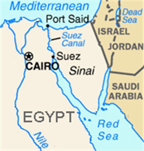 middle east map suez canal ch4 f99