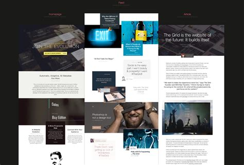 website layout grid exles the grid free website psds graphicsfuel