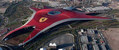 Ferrari Land In Dubai by Le Nouveau Parc D Attractions Ferrari Land Demarre Sa