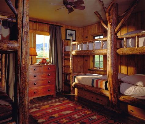 Cabin Bedroom Ideas Cabin Bedroom Decorating Ideas With Bunk Beds For Lodge