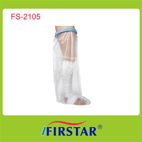Foot Cover For Shower by Waterproof Cast Cover Foot Cast Wound Shower