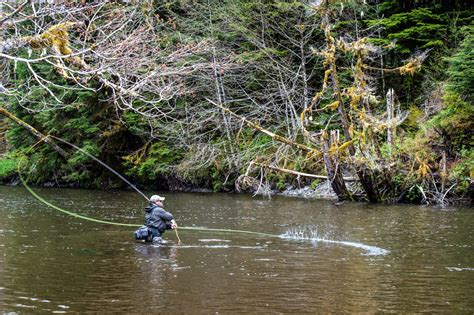 Alaska Steelhead Fly Fishing   Alaska Charter Service