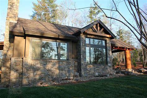 craftsman cabin cabin cottage craftsman house plan 43204