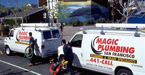 plumber san francisco magic plumbing services