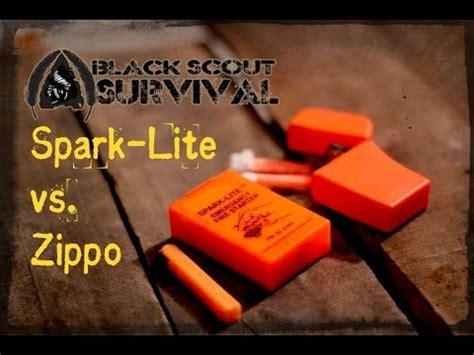tera light fire starter zippo fail spark lite vs zippo emergency fire starter