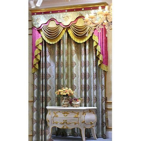 coloured voile curtains woven coloured leaf pattern voile curtain