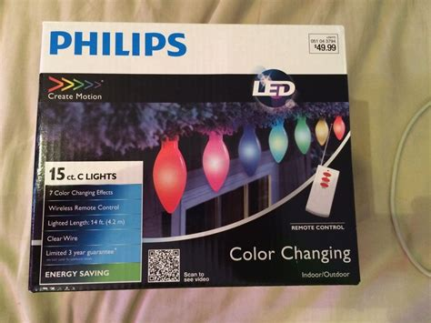 philips led color changing lights philips create motion 15 ct led color changing lights