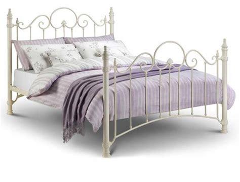 Florence Metal Bed Frame Julian Bowen Florence White Metal Bed Frame Buy At Bestpricebeds