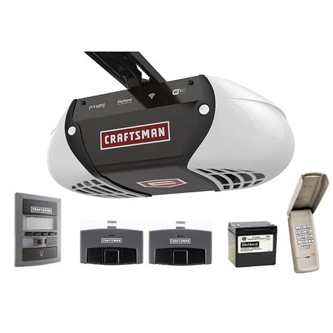 craftsman garage door opener the craftsman wi fi garage door opener garagespot