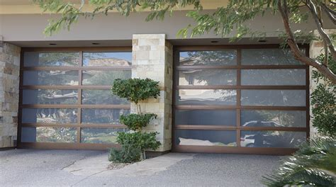 Glass Overhead Door Modern Glass Garage Doors