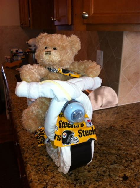 Steelers Baby Shower Ideas by Cakes Diapers And Baby Showers On