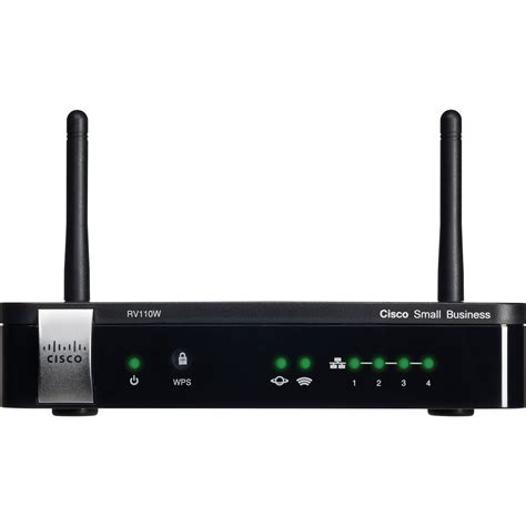 cisco rv110w wireless n vpn firewall router rv110w a na k9 b h