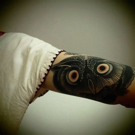 nite owl tattoo 120 owl tattoos that will keep you awake