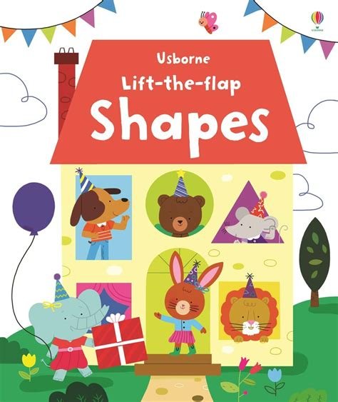 picture books about shapes lift the flap shapes at usborne children s books